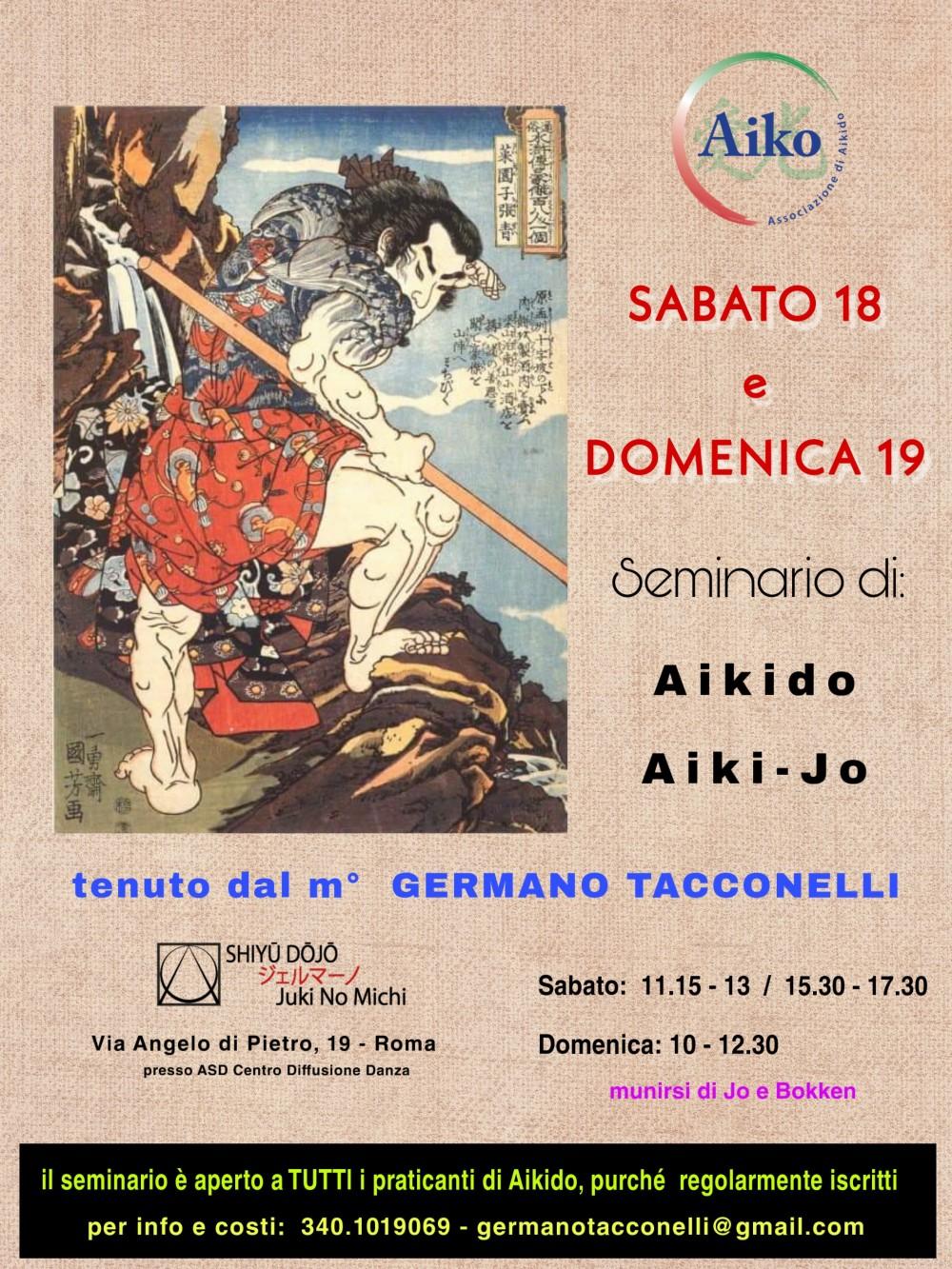 locandina seminario aikido